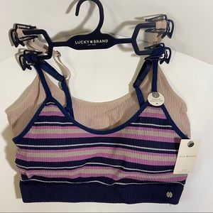 Lucky Brand Seamless Comfort Bras Size Large